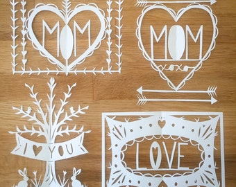 Mother's Day Papercut Specials!