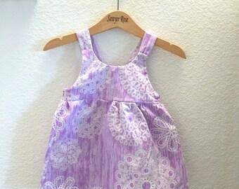 Lilac Loops and Swirls Dress