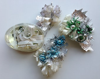 Vintage Holiday Corsages