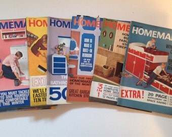 Vintage Homemaker Magazine ( date options 1967-1973)