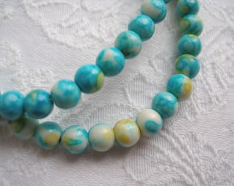 Fancy beads with a gradient transition , will be a wonderful addition to your masterpiece 4 mm 10 25 50 pieces
