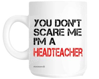 Headteacher Novelty Gift Mug SHAN20