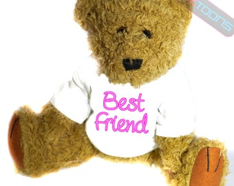 Best Friend Novelty Gift Teddy Bear