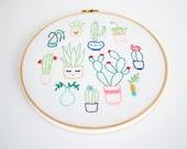 Artist Series - Embroidery Pattern PDF - Thread Folk and Oh Baby Bird