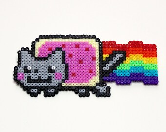 Hama / Perler Bead Nyan Cat