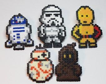 Perler / Hama Bead Star Wars Characters