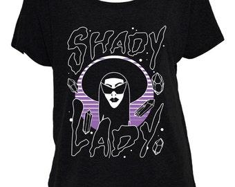 Shady Lady Off-The-Shoulder Shirt