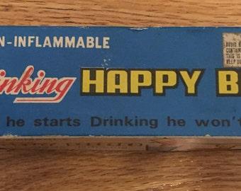 Vintage Drinking Happy Bird