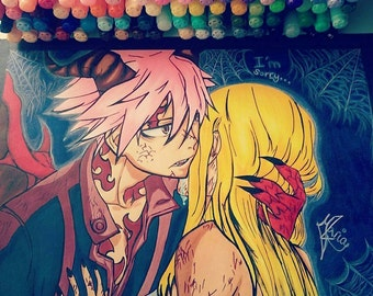 Natsu and Lucy from Fairy Tail