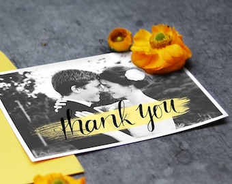 Wedding Thank you card // Young Love