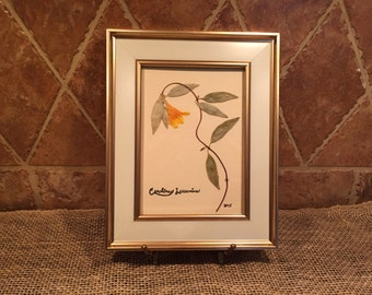 Framed botanical - Carolina Jasmine