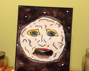 The Moon from Mighty Boosh