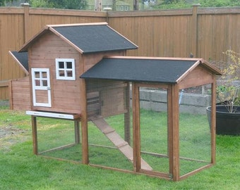 "Chicken Coop ""Lodge"" style for 4-6 Hens"