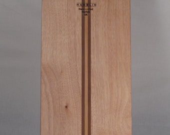 Deluxe Bellyboard, hand crafted Okoume with solid Cedar wood inlays