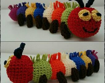 Crochet Caterpillar Jiglez