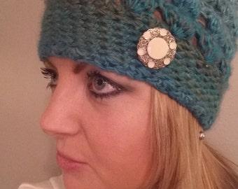 Handmade elegant scarf & hat set