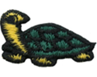 """1 3/4"""" by 7/8"""" Turtle Applique Sew On Patch Craft Supplies w/ Free Shipping"""