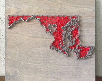 Maryland String Art, Maryland Art