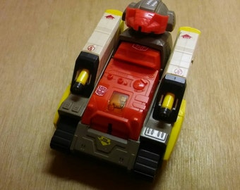 Vintage 1980's transformers tank