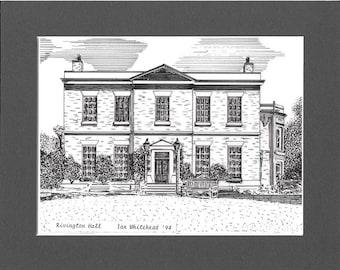 Rivington Hall, Rivington, Lancashire.