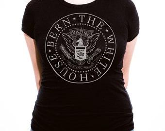 Bernie Sanders Punk Rock Shirt - Ramones - Ladies