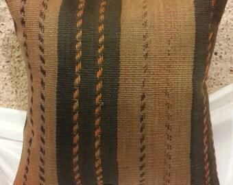 kilim pillow,pillow cover,turkis sofa pillow,woven pillow 40x40 cm ('16x'16 inches)(117)