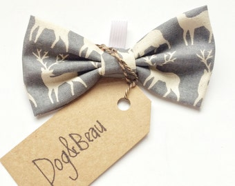 dog bow tie, christmas dog, bow ties for dogs, reindeer bow tie, pet bow ties, christmas bow tie dog