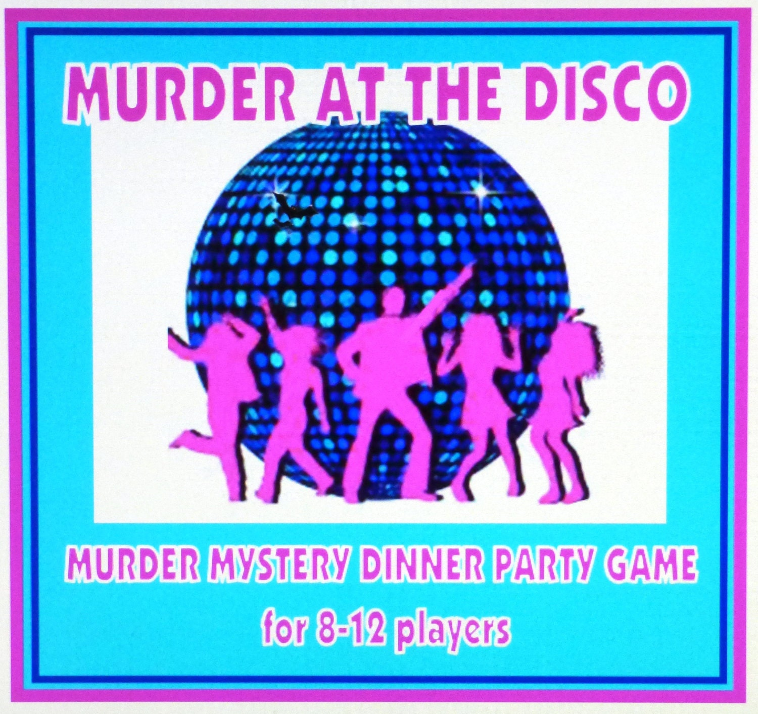 1970's Murder Mystery Dinner Party Game For 8-12 Players