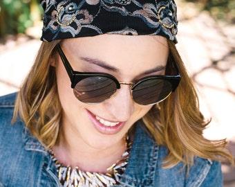 Headbands for Women, Fashion Headbands, Turban Headband, Hair Accessory, Hair Accessories, Hand Beaded Women's Headbands, Headbands,--Elan