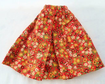 "Vintage Barbie Doll "" County Fair Skirt"" 1964 # 1603"