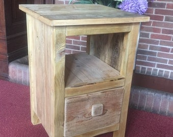 Hand Crafted Bedside Cabinet