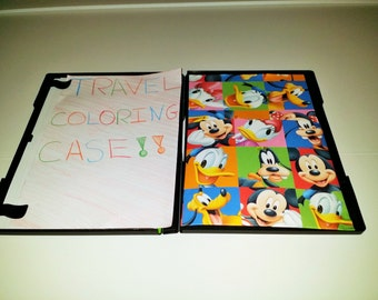 Travel Coloring Case (Micky Mouse and Friends)