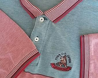 "US Open ""Golf Collection"" Men's XL Polo; Featuring Oakmont CC's 1994 Edition (Champion Ernie Els)"