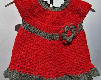 Baby dress, Little Sweetie dress, girls clothes