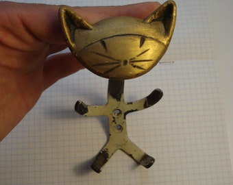 Soviet coat hook Cat.Ussr.
