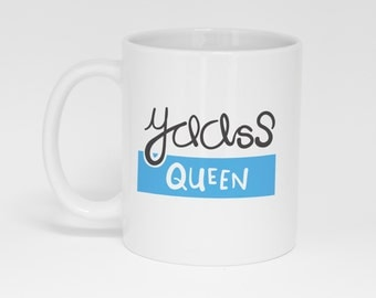 Yaass Queen Mug (With Gift Box)