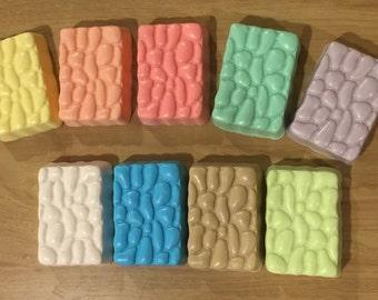 Handmade Oatmeal Shea Cobblestone Unscented Soap