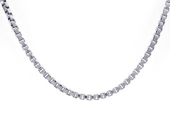 Genuine Tiffany & Co. Venetian Link Necklace in Sterling Silver