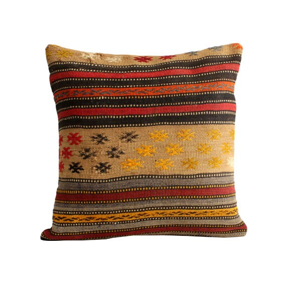 Large Floor Pillow Cases : kilim pillow 20x20 large cushion cover big pillow case 40x40
