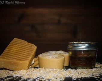 Oatmeal, Milk, and Honey Goats Milk Soap