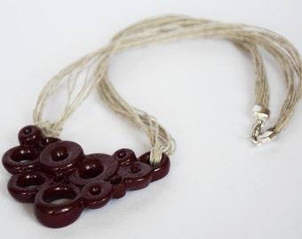 3D Printed Women Modern Fashion Jewellery Necklace Pendant