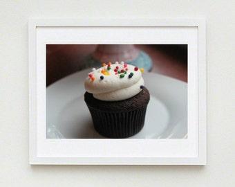 Chocolate Sprinkles Cupcake - INSTAPIC Digital Download