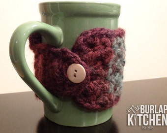 Mug and Cozy Set-coffee cup cozy, cup cozy