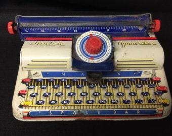 Vintage MARX JUNIOR TYPEWRITER, Works, superawesome!!!