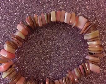 Pink Shells Bracelet