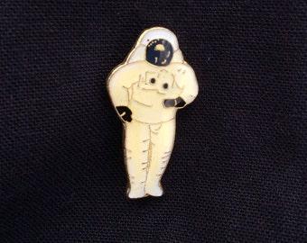 Vintage Deadstock Enamel Astronaut Pin