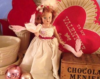 Vintage Valentine Doll
