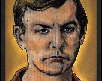 Jeffrey Dahmer is Card Number 68 from the Original Serial Killer Trading Cards
