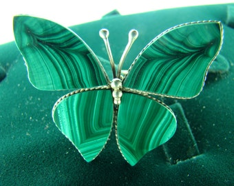 Ring Butterfly Malachite