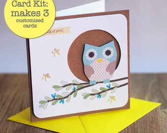 3 Pack - Card Kit - Thinking of you